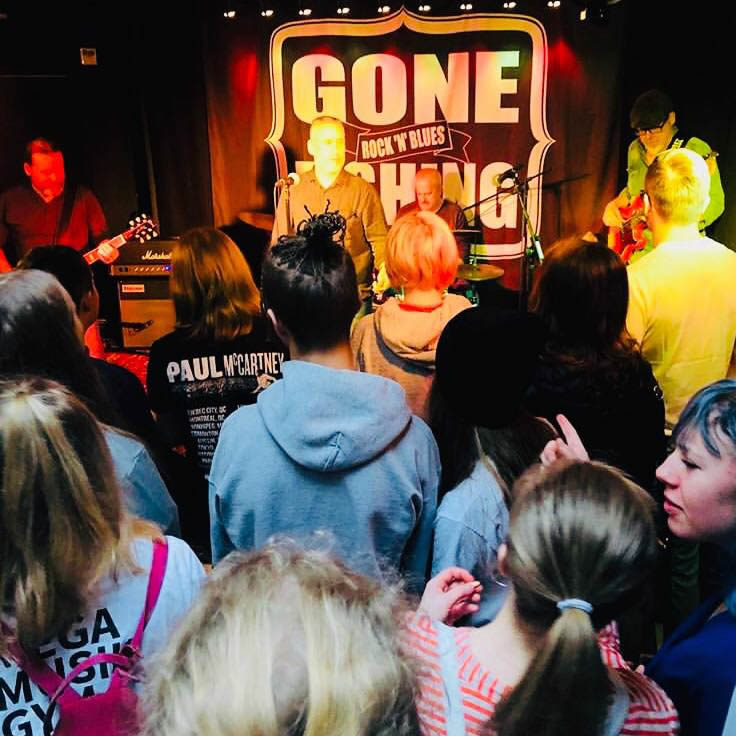 Gone Fishing|gone-fishing|Gone fishing seeks their roots in the Bluesrock of the 70-ties.