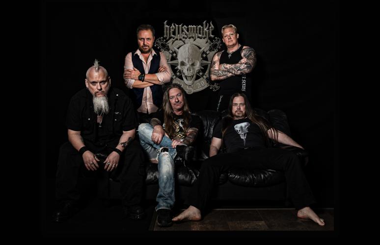 Hellsmoke|hellsmoke|Hellsmoke, from the south of Sweden, plays a gasoline infused Hardrock/Metal combination.